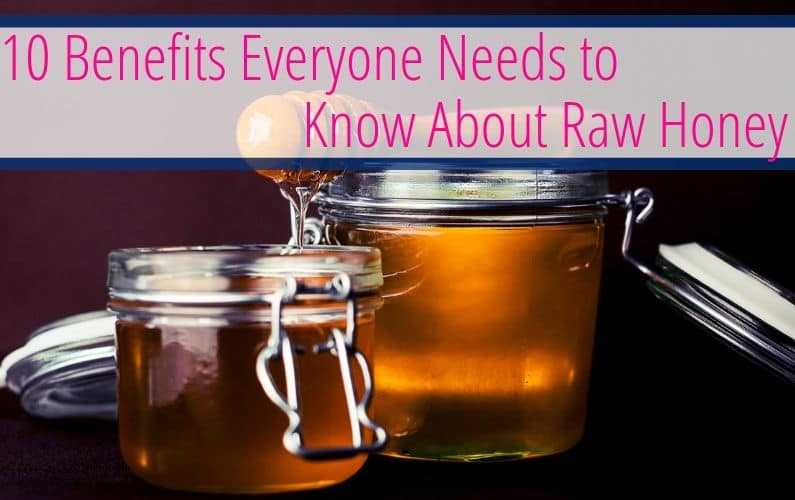 Learn about all the health benefits of raw honey