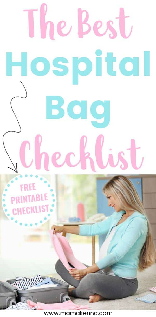 learn about what exactly to pack in your hospital bag