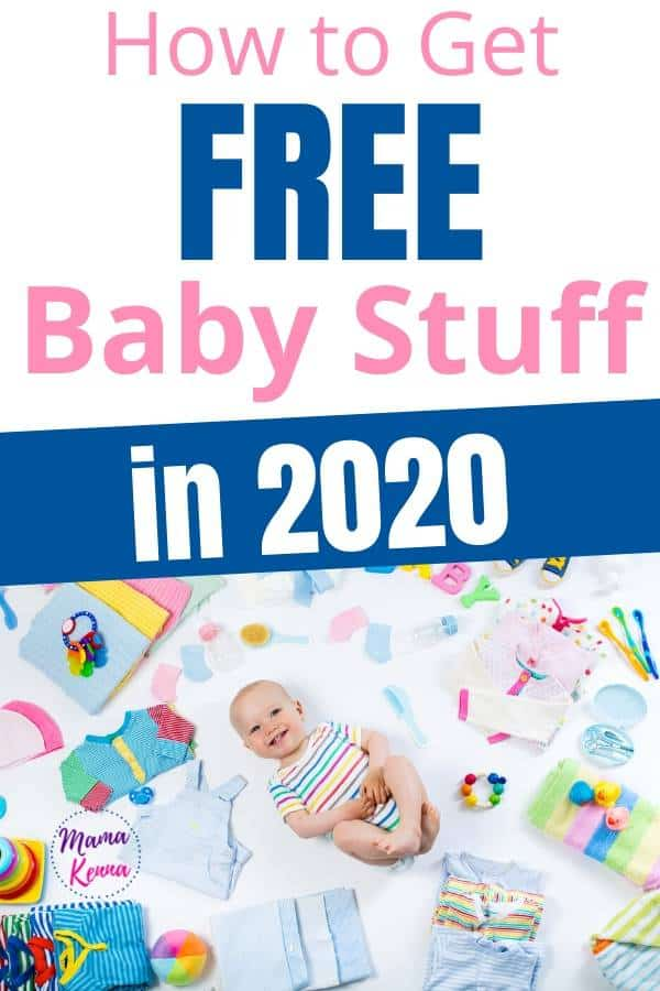 here you can learn how to get free baby stuff for expecting moms in 2020