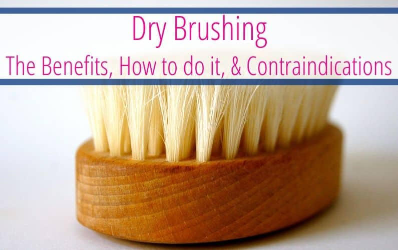learn the health benefits of dry brushing your skin! As well as how to do it and the contraindications