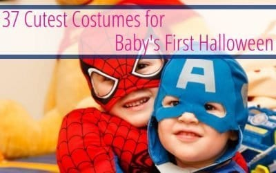 37 Cutest Costumes for Baby's First Halloween