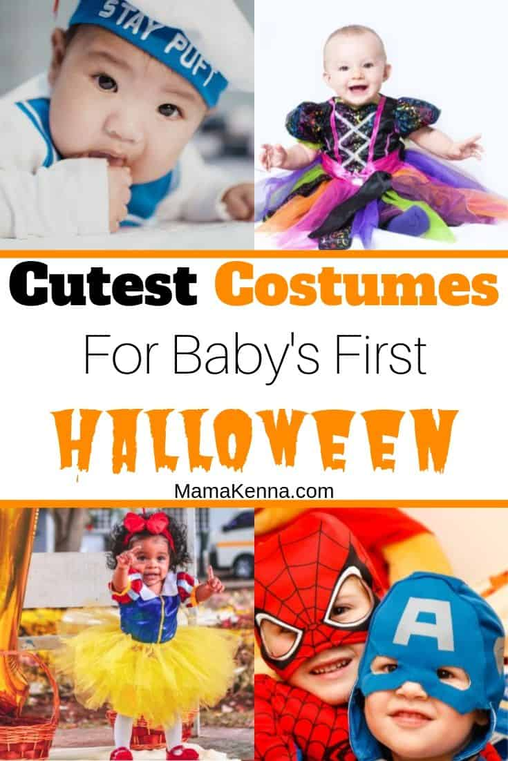 Find the cutest costumes for baby's first halloween. There's lots of baby costumes for girls and boys. Find halloween outfits for mom and baby as well as newborn halloween costumes.