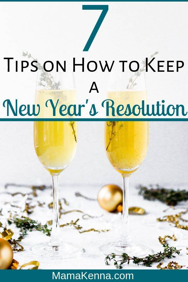 Learn how keep a new year's resolution. These tips will help you with sticking to your new year's resolution. You can also find a list of exmaples of simple new year's resolutions