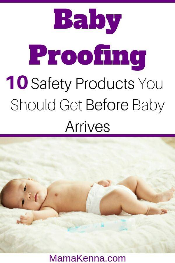Find out these 10 Baby Safety Products you should get before baby arrives! You can get all these baby proofing items through Amazon. Look through this baby proofing list to find baby proofing ideas