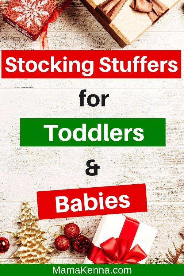 Find awesome stocking stuffer ideas for toddlers and babies. These stocking fillers will fit perfectly in your little ones Christmas stocking. You can even find toddler and baby stocking stuffer ideas that are cheap and inexpensive.