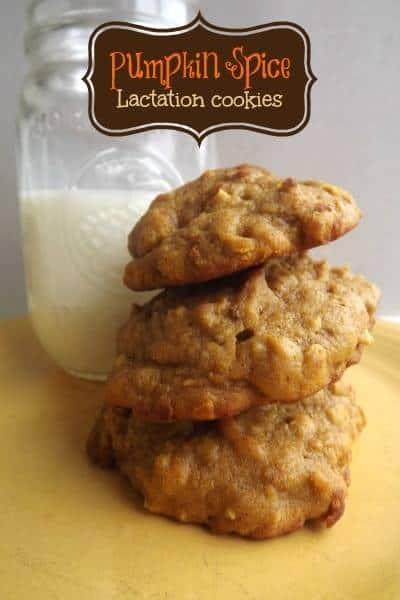pumpkin cookies for lactation