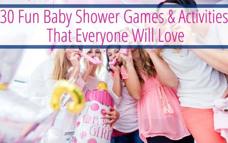 Unique baby shower games and activities to play. Find lots of different baby shower games like word scramble, baby bingo, relay race, he said she said game, play doh baby and much more. You can even find baby shower activities that aren't games like make a wish for baby, block decorating, and bib decorating. You can do all of these baby shower games for large groups or small groups. So have fun doing these modern baby shower games!
