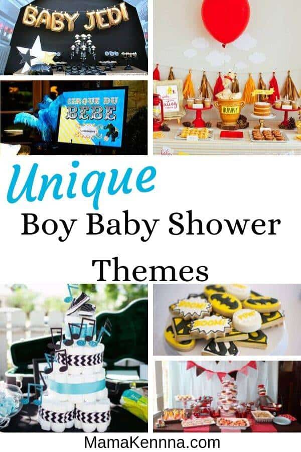 Find boy baby shower ideas that you'll love! You can find baby shower themes for boys that are cute, modern, sophisticated and more! These unique boy baby shower themes will make for a fun and memorable time! These baby boy shower ideas and decorations will blow you away!