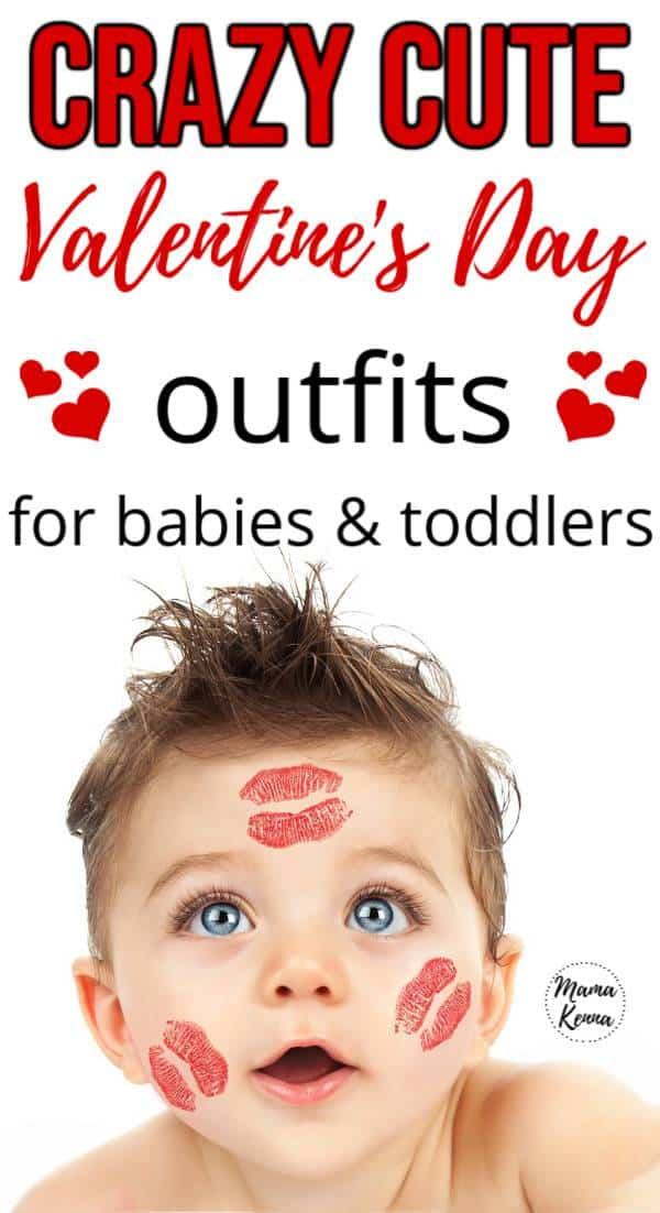 Get a Valentine's Day Outfit for your little baby or toddler!