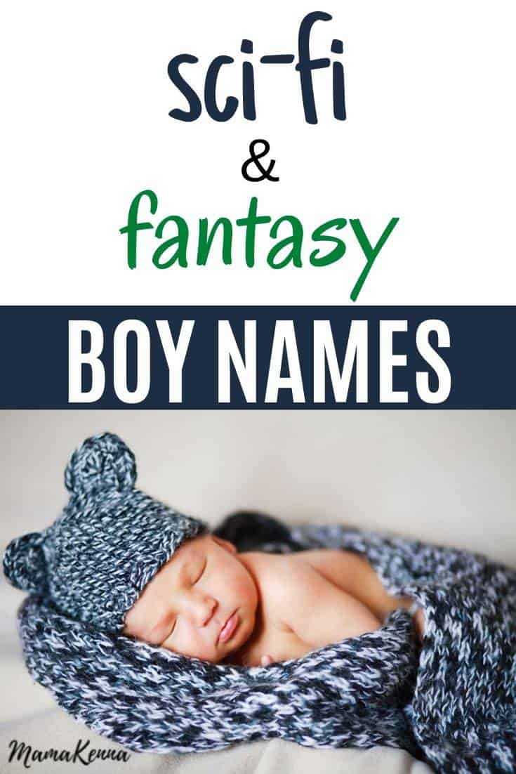 Here's a list of fantasy boy names and their meanings