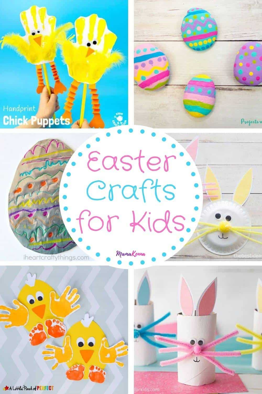 learn fun and easy easter crafts for kids here