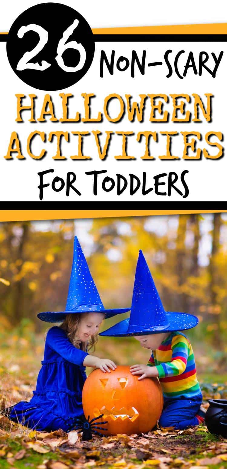 Looking for some fun halloween activities to do with your toddler? Then come check out this post!