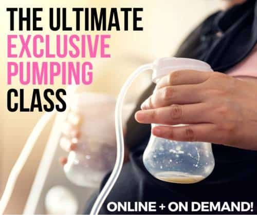 best online breastfeeding class for exclusive pumping