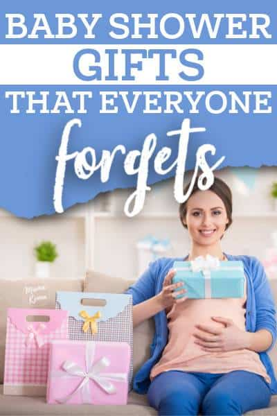 a list of the most forgotten baby shower gift ideas